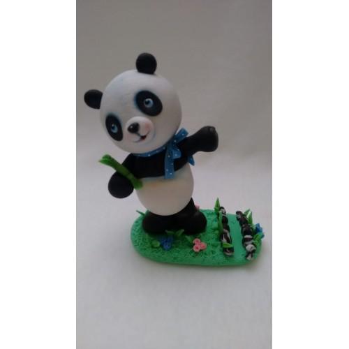 porta celular panda